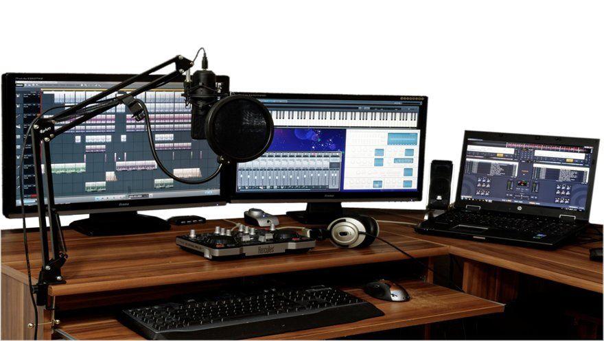 Equipo esencial para hacer beats en estudio caseros